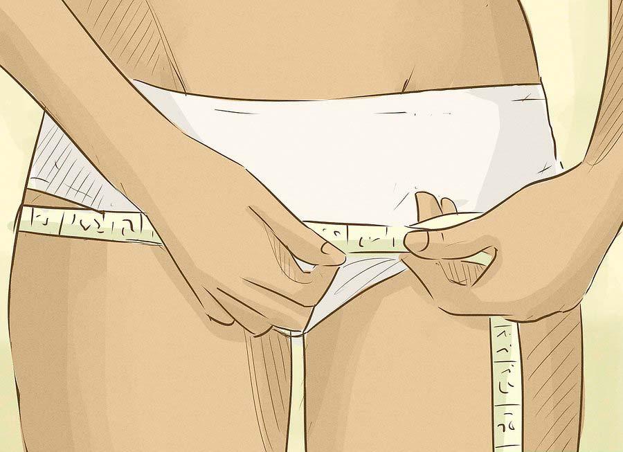 Как измерить объем бедер