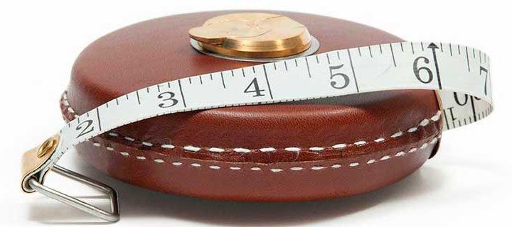 Как измерить объем бедер, талию и обхват груди