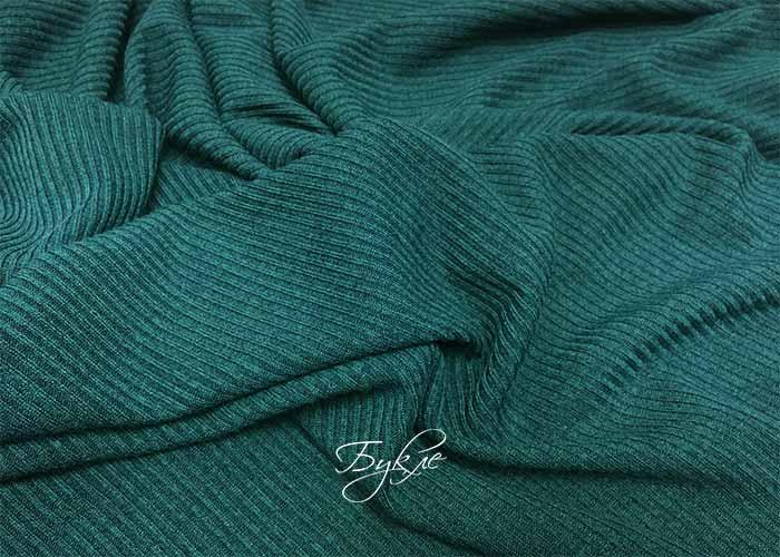 Трикотаж Резинка Зеленый