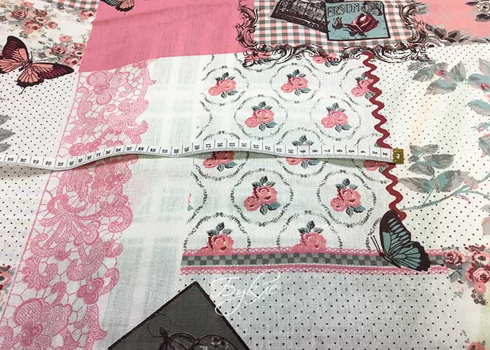 Бязь Розовая Пэчворк фото
