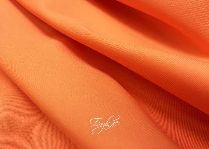 Хлопок Сорочечный Оранжевый фото