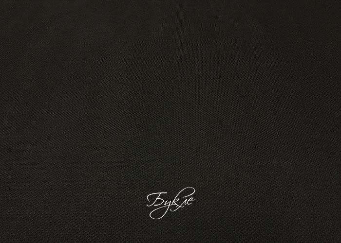 Костюмная Ткань Черная Крупного Плетения