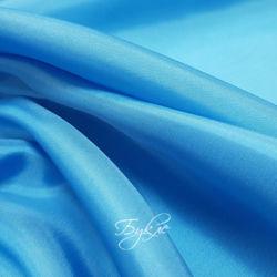 Подкладка Небесно-Голубая Атлас