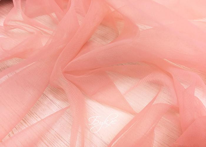 Фатин Мягкий Пыльно-Розовый фото