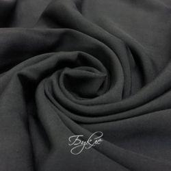 Штапель-Поплин Вискоза Черный фото