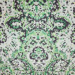 Шелк Батист с Зелеными Сотами фото