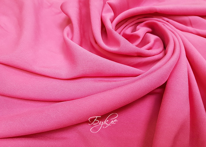 Штапель Розовый Вискоза фото