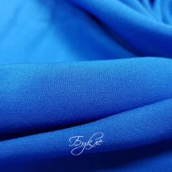Штапель Синий Вискоза фото
