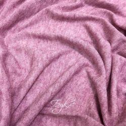 Трикотаж Вязаный Розовый