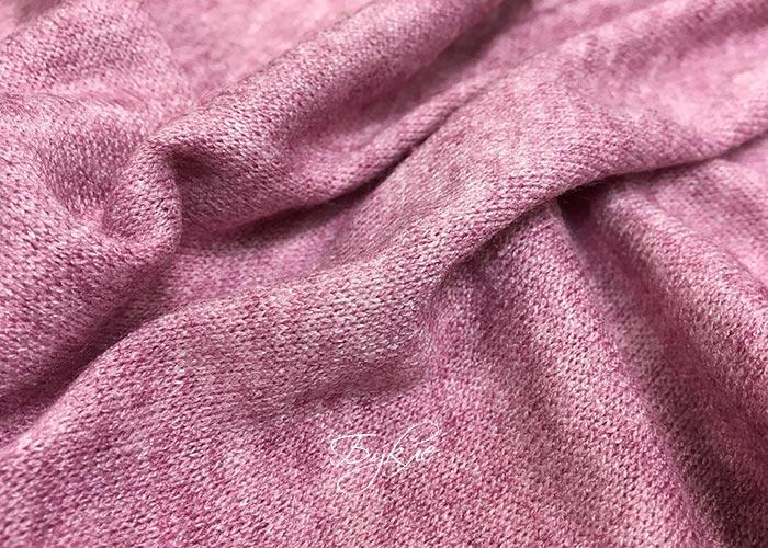 Трикотаж Вязаный Розовый фото