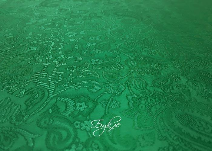 Подкладка Зеленая Вискоза фото