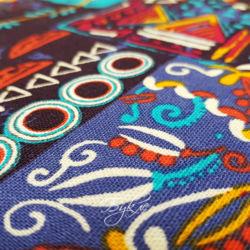 Вискоза Разноцветный Пэчворк фото
