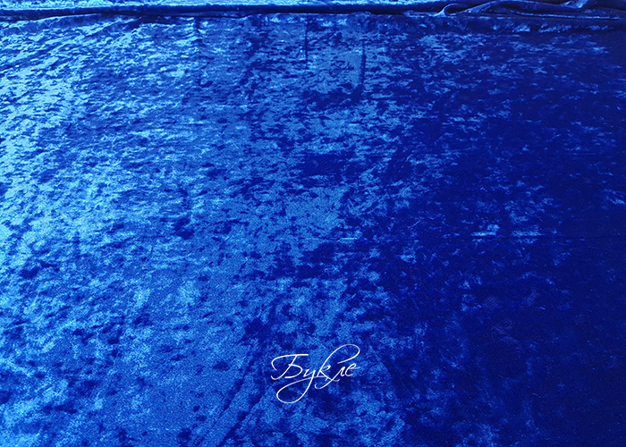 Бархат Мраморный Синий фото