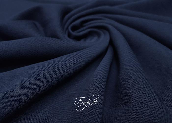 Хлопок Футер 3-х нитка Темно-Синий фото