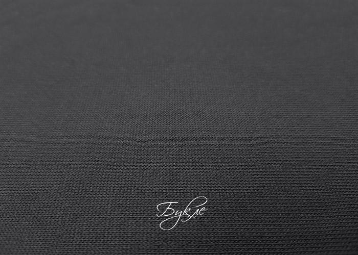 Хлопок Футер 3 Нитка Черный фото