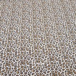 Шелк Креп Мелкий Леопард фото