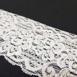 Кружево Белое с Розами 60мм фото