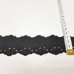 Шитье Черное с Узором 40мм фото
