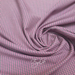 Костюмная Гусиная Лапка Розовая фото
