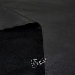 Искусственная Кожа на Меху Черная фото