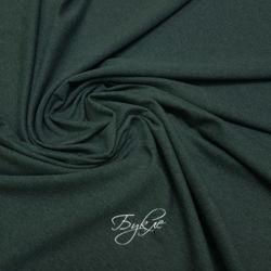 Хлопок Футер Темно-Зеленый Италия фото