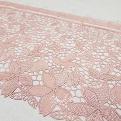 Кружево Розовая Сетка 200мм