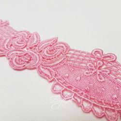 Кружево Светло-Розовое 55мм