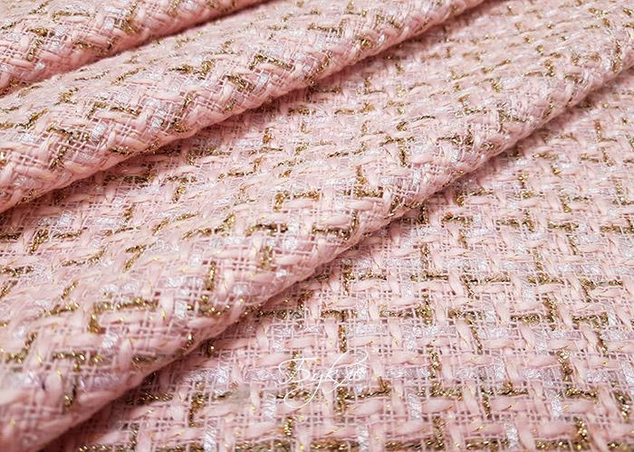 Шанель Розовая с Золотом