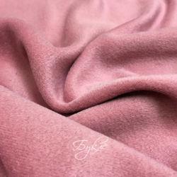 Шерсть Драп Ворсовой Темно-Розовый