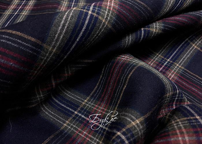 Шотландка Красная-Синяя-Горчица