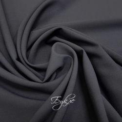Габардин Костюмный Темно-Серый