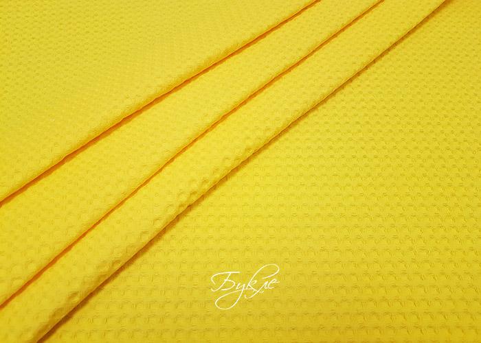 Вафельное Полотно Желтое