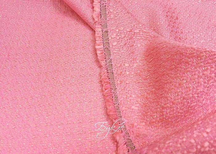 Шанель Розовая Барби с Люрексом