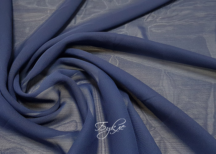 Шифон Темно-Синий
