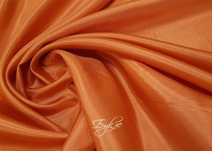 Подкладка Вискоза Оранжевая Италия