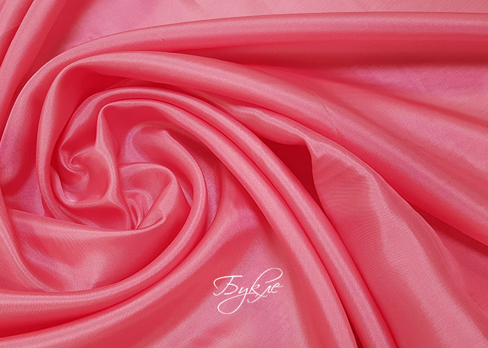 Подкладка Вискоза Розовая Италия