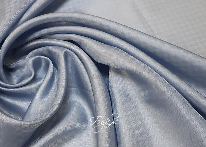 Подкладка Вискоза Серо-Голубая Лапка